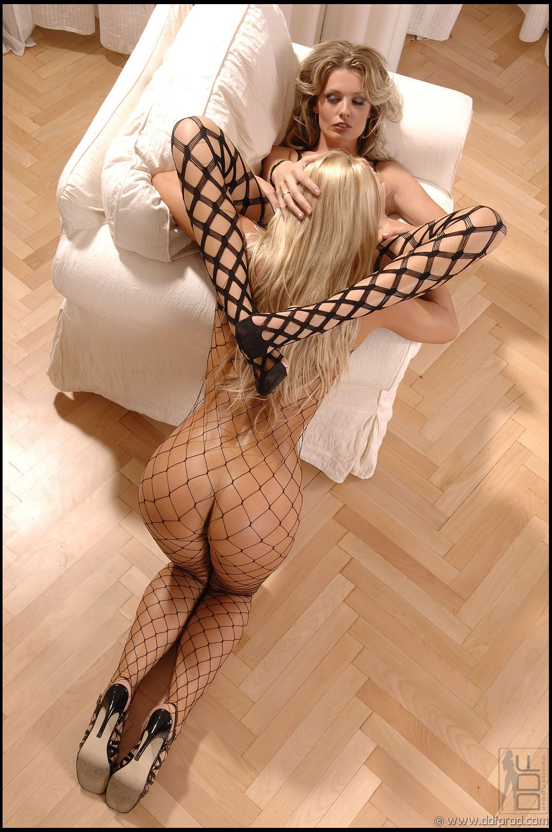 Lesbian fish net