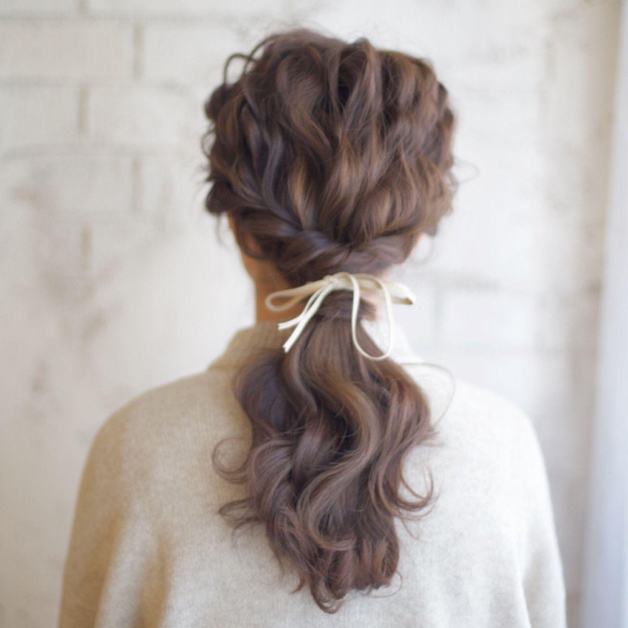 ヘアアレンジ Hair Do おしゃれまとめの人気アイデア Pinterest