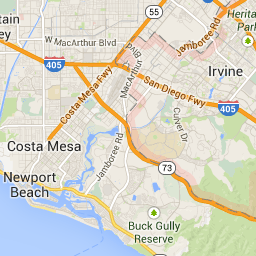 Irvine CA - Google Maps | Map, Newport beach, Newport