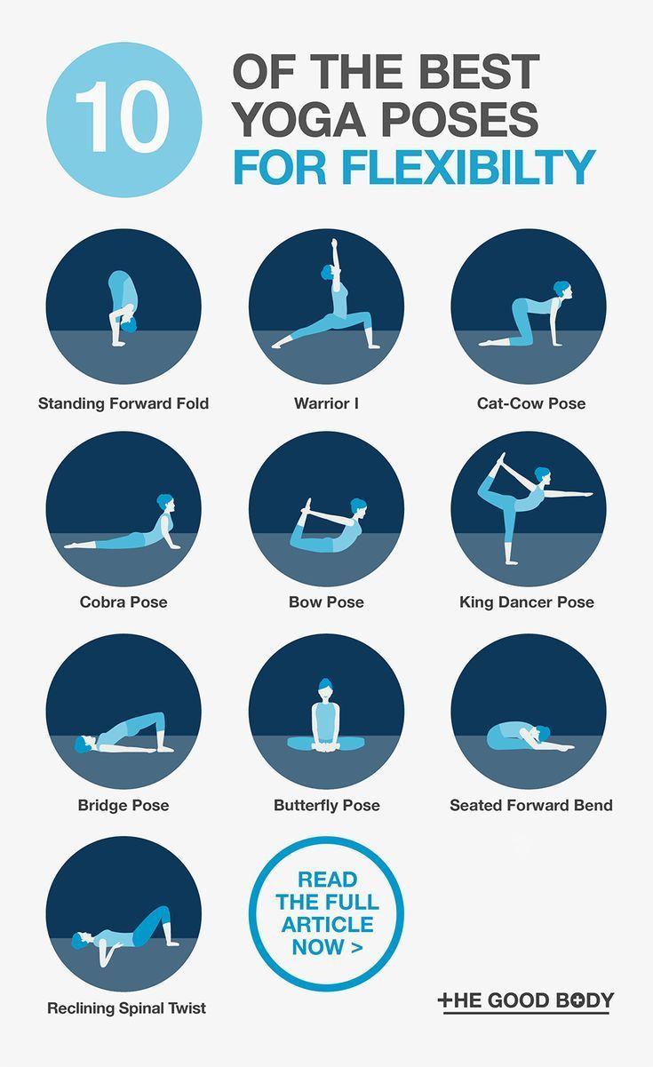 SLIDESHOW The 10 Best Yoga Poses for Flexibility: Asanas to Make You More Flexible