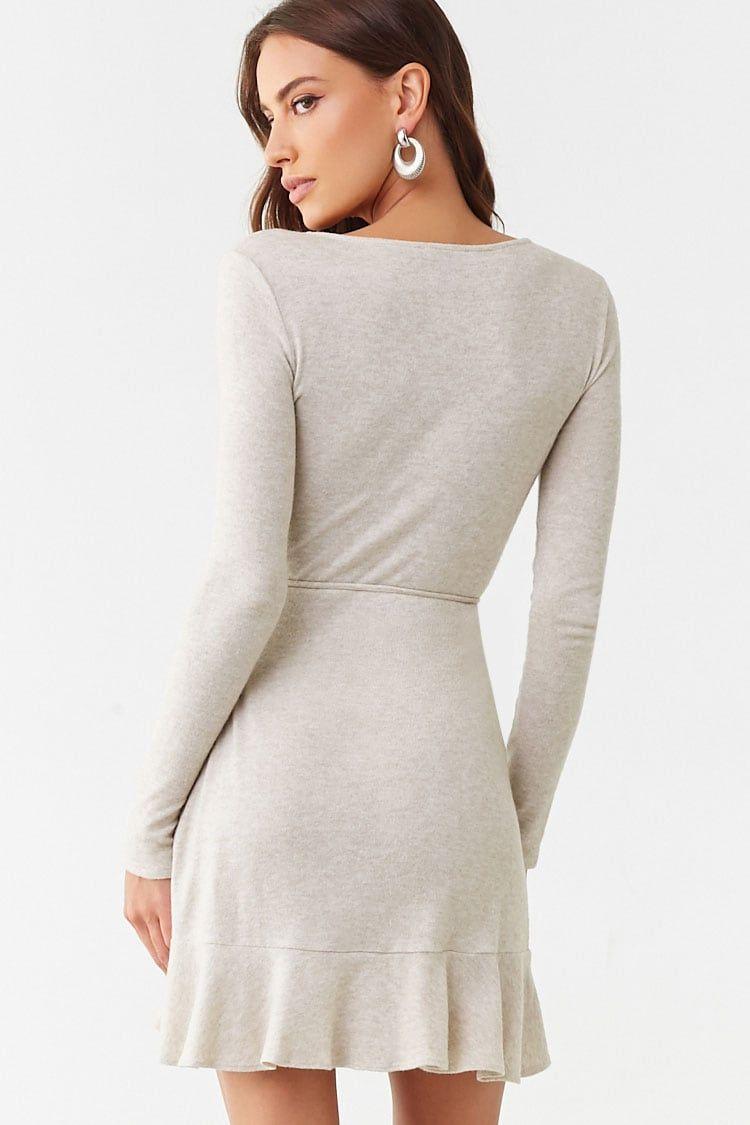 Surplice Wrap Dress Forever 21 Surplice Wrap Dress Dresses Wrap Dress [ 1125 x 750 Pixel ]