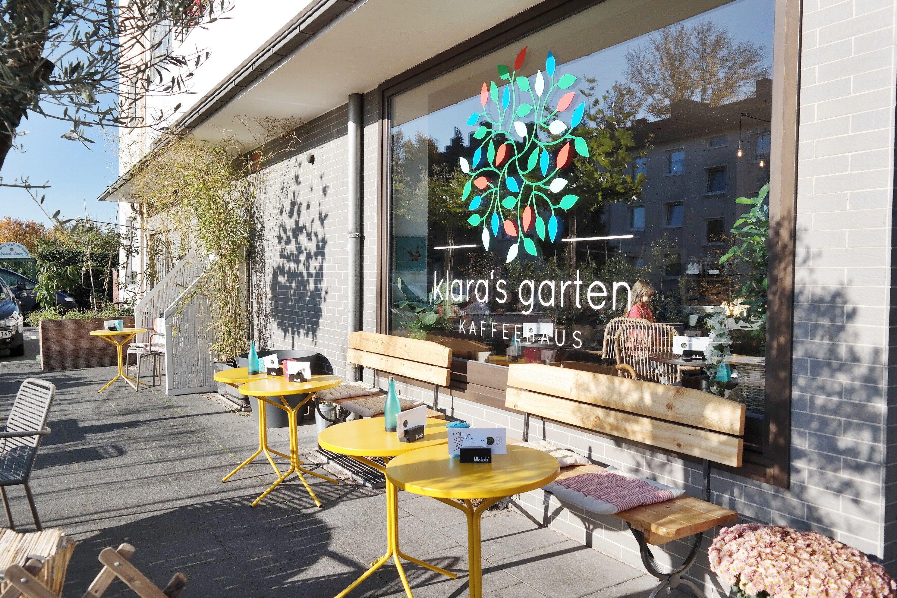 Ein Neues Café Im Bonner Norden Klaras Garten Bonn In Rheinnähe