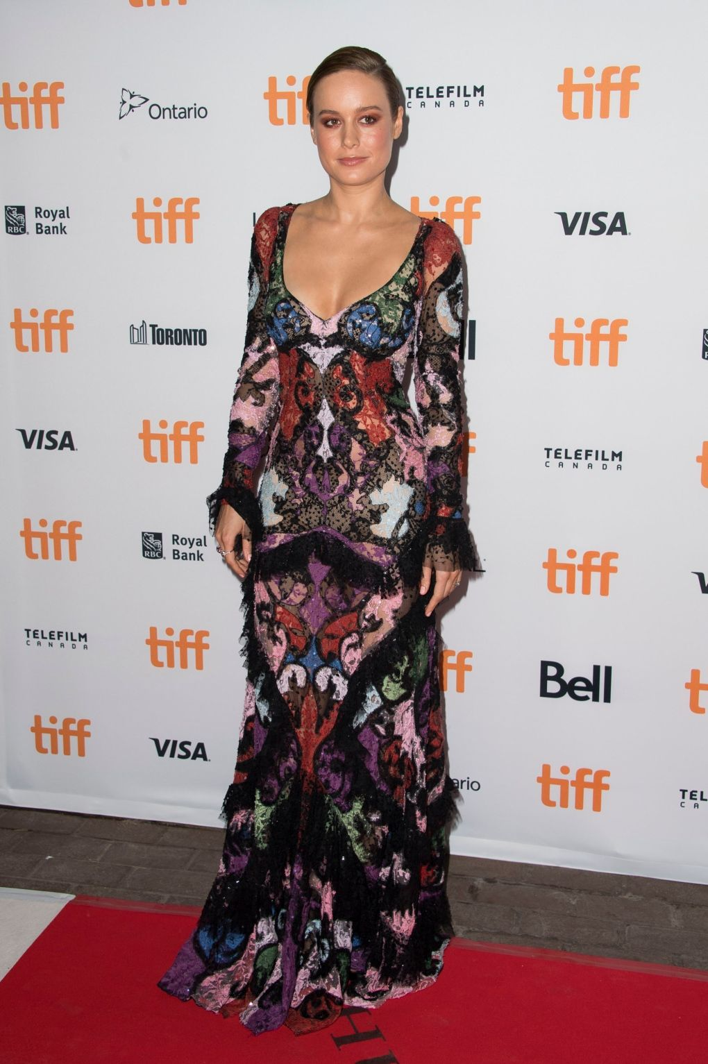 Brie Larson attends the 'Free Fire' premiere on day 1 of the Toronto International Film Festival at the Ryerson Theatre on Thursday, Sept. 8, 2016, in Toronto. (Photo by Arthur Mola/Invision/AP)