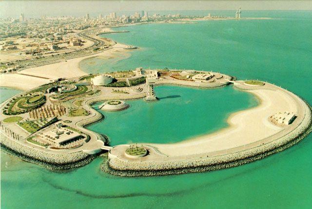 الجزيـرة الخـضراء تاريخ الكويت Kuwait City Kuwait Artificial Island