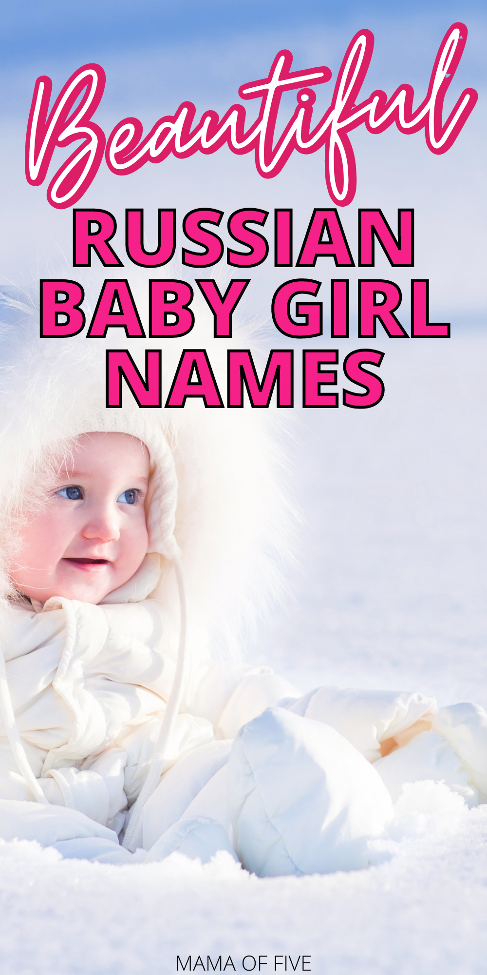 Russian Girl Names in 2021 | Baby girl names, Girl names
