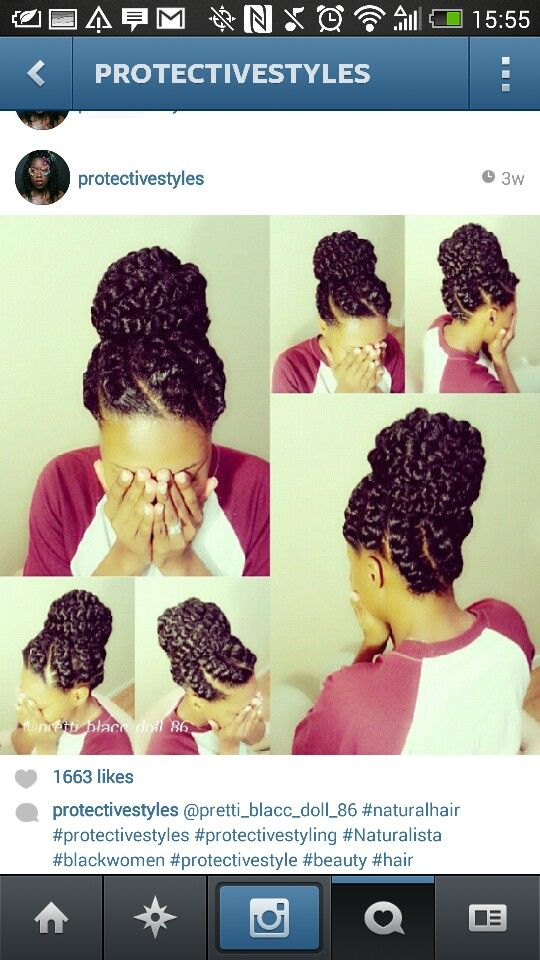 Beautiful protective styling (mat) | Natural Hair & Braid ...