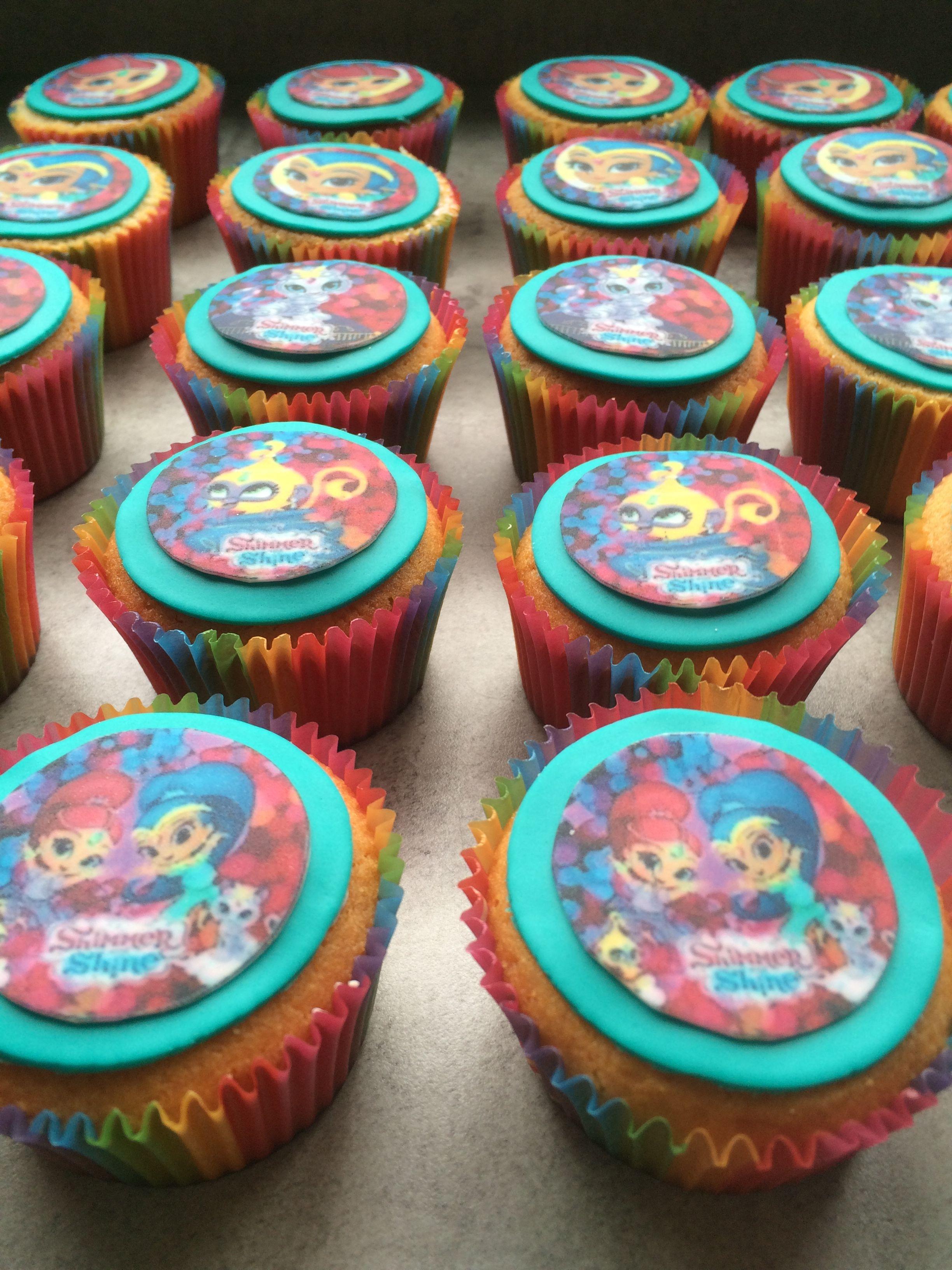 Shimmer & Shine cupcakes