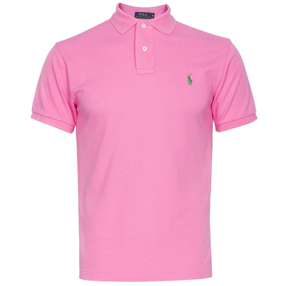 30f263a8a ... cheap polo ralph lauren ralph lauren slim fit classic polo shirt light  pink aec83 cf762
