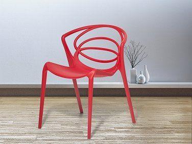 Küchenstuhl Rot ~ Stuhl rot esszimmerstuhl gartenstuhl küchenstuhl essstuhl