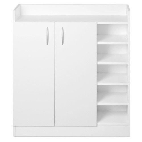 Best Buy Cheap Shoe Organizer Cabinet For 21 Pairs W 2 Doors 5 400 x 300