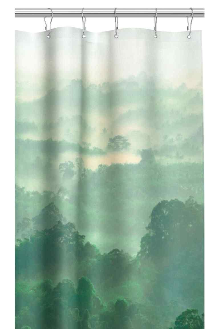 Photo Print Shower Curtain