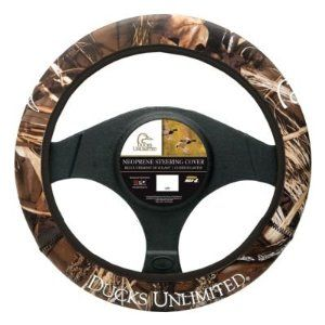 Amazon Com Ducks Unlimited Neoprene Steering Wheel Cover Max 4 Camo Automotive Steering Wheel Cover Wheel Cover Steering Wheel