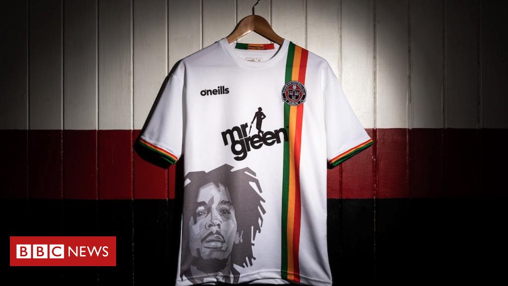 Bob Marley's son hails 'dopest' football kit Bob marley