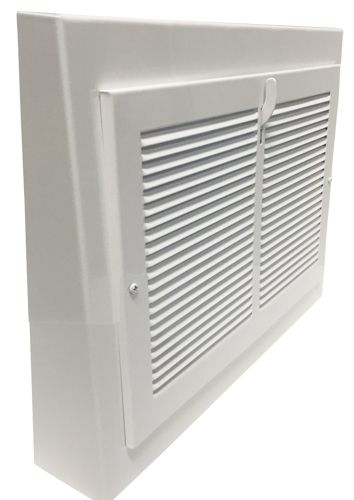 10 X 8 White Gravity Register 13 X 12 Overall Decorative Vent Cover Baseboard Register Baseboards