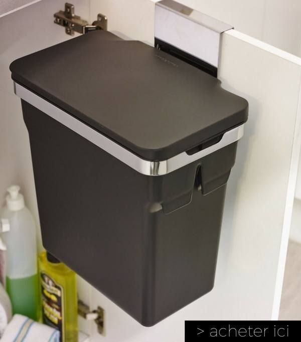 Trends Diy Decor Ideas  poubelle de porte de placard petite cuisine