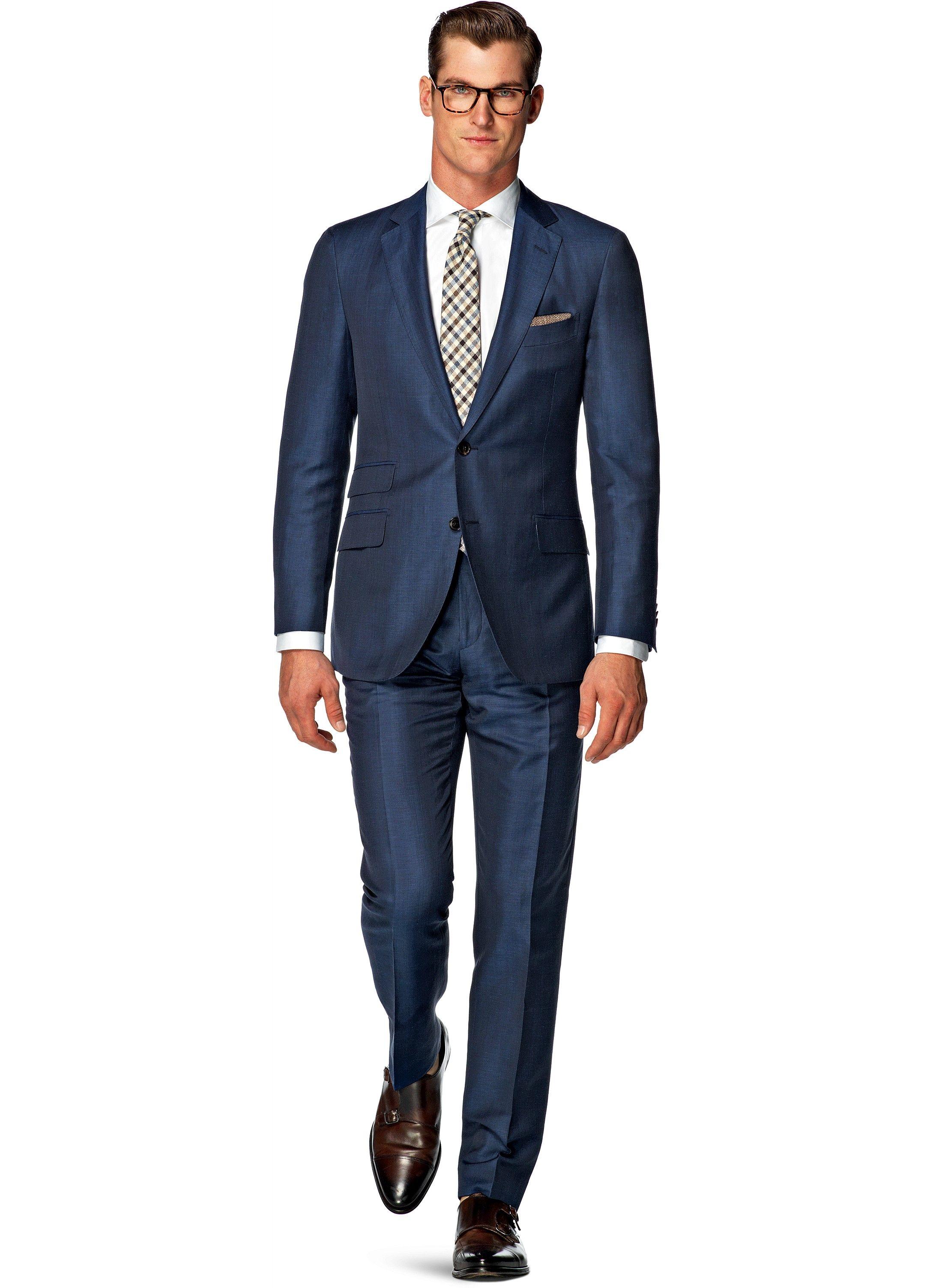 Suit Blue Plain Sienna P3882i | Suitsupply Online Store