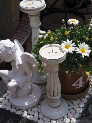 Round Barn Potting Company: white on white