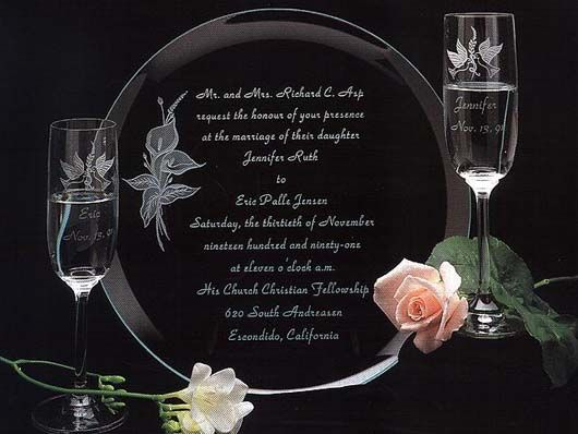 Explore Gl Etching Etched And More Wedding Gift Set