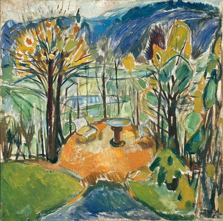 The garden » Munch's Ekely