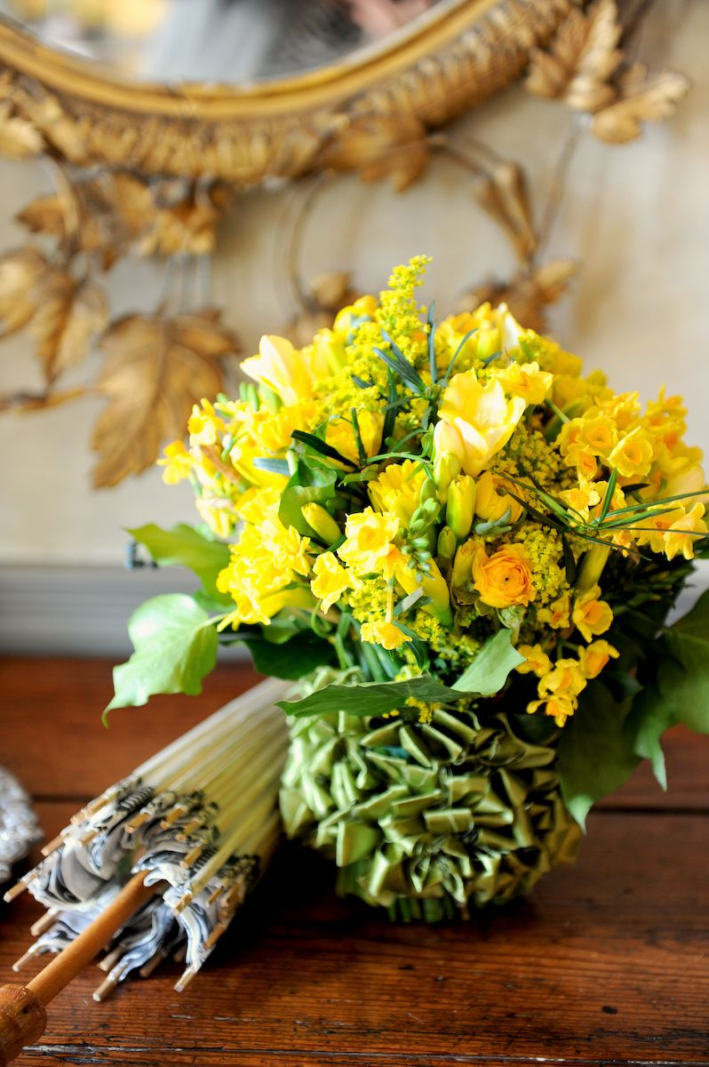 Bouquet by White House floral designer Laura Dowling