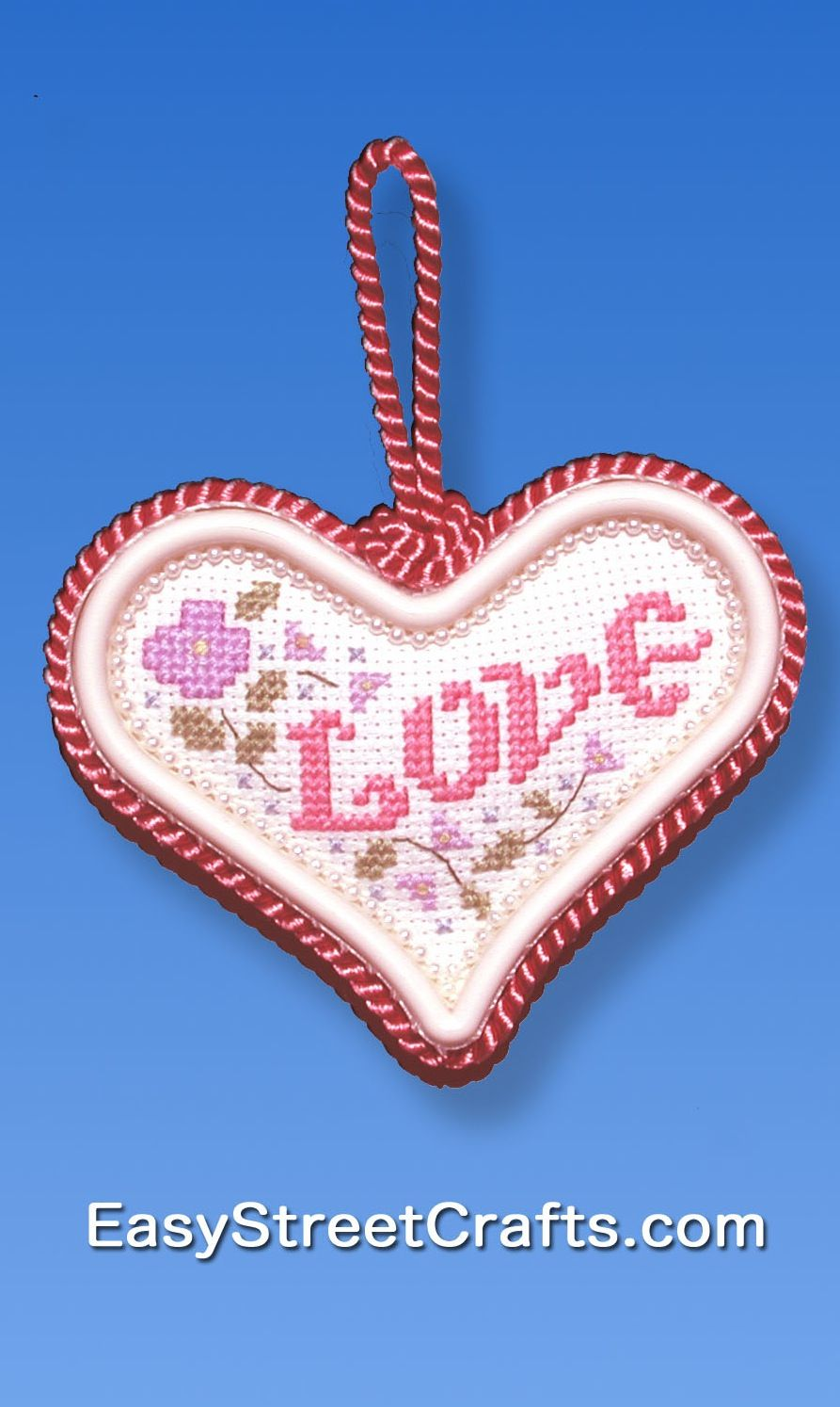 LOVE & FLOWERS -- THIS SPELLS IT OUT! Stitch and Frame to send to ...
