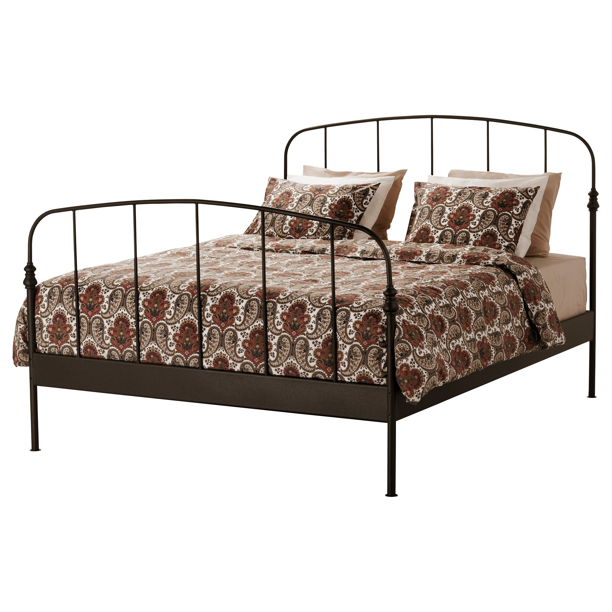 Metalen Frame Bed.A Sweet Little Iron Frame Bed For The Future Guest Room Or As We