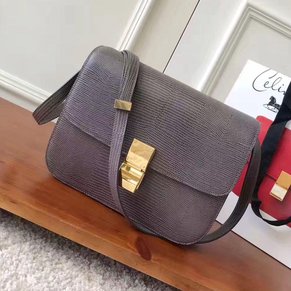 7fc0c4d6b5d0f Celine Medium Classic Box Shoulder Bag 100% Authentic