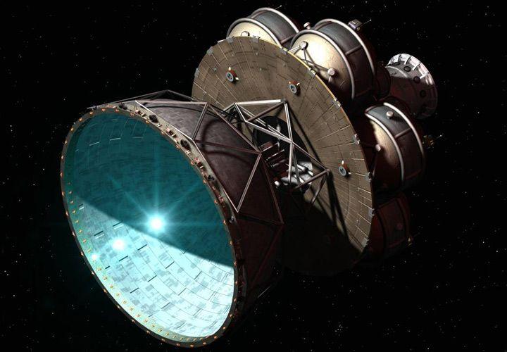фотонный двигатель на спутниках всем везет тебе