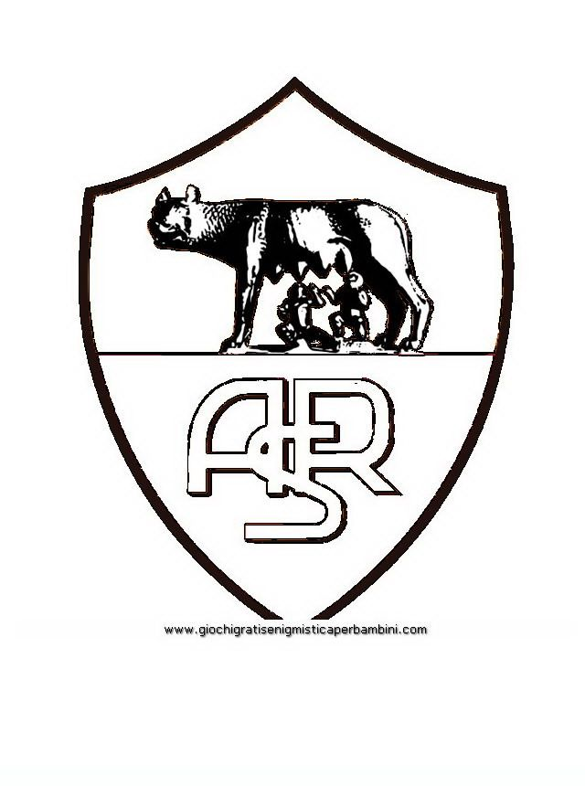 football_badges_rome Teenagers coloring pages | Coloring pages for ...
