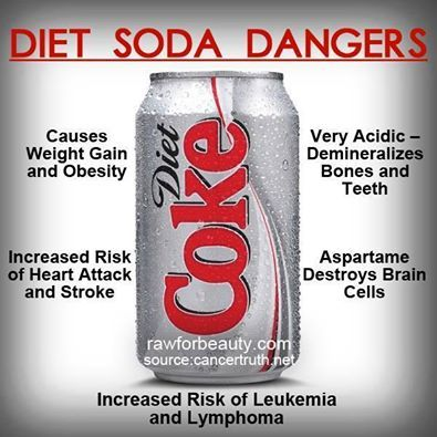 why diet drinks are bad