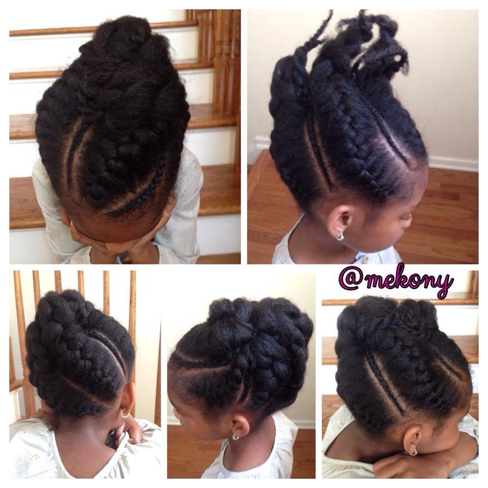 Natural. Coiffure EnfantCoiffure ProtectriceIdée Coiffure Cheveux CrépusCoiffure  Petite FilleMa