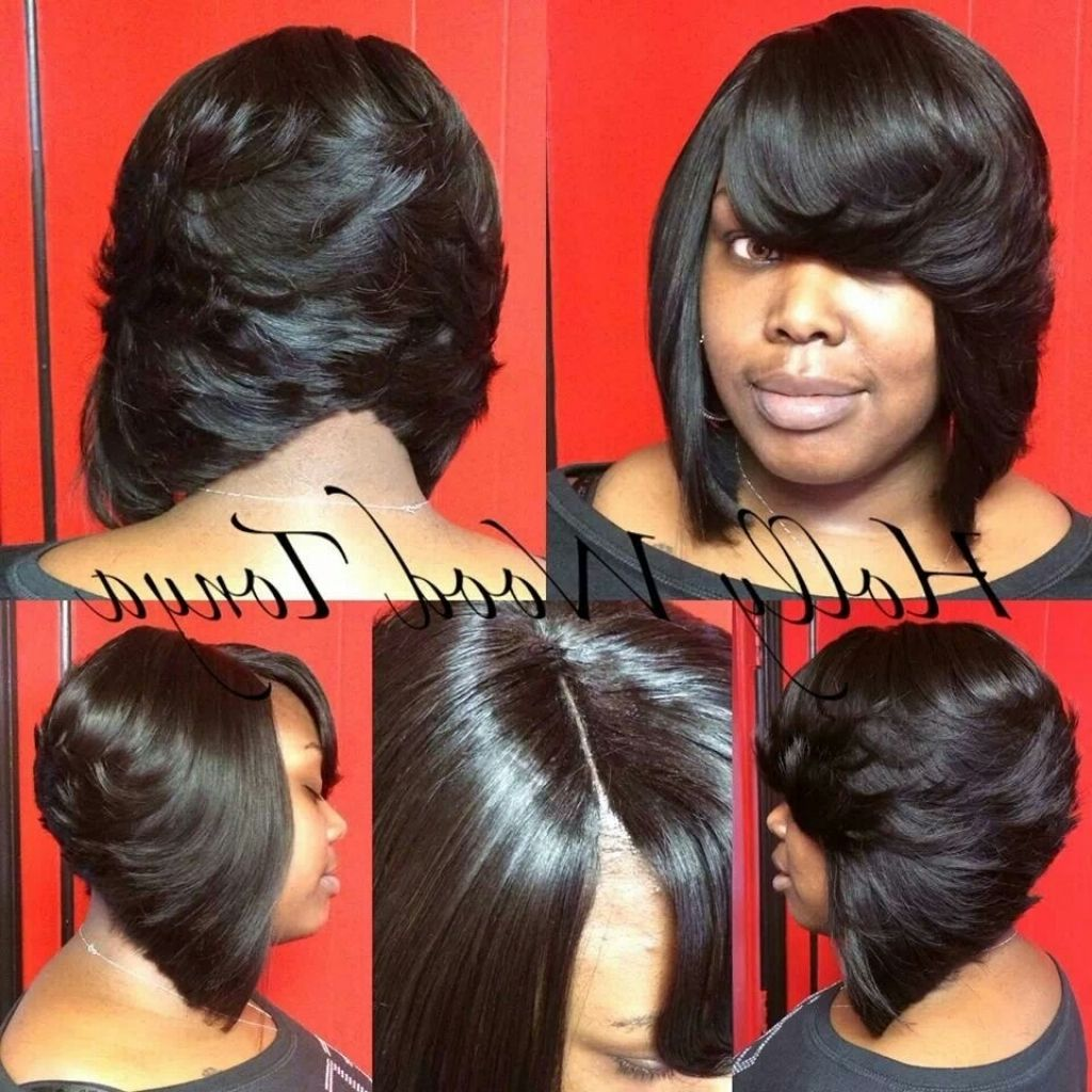 Incredible 1000 Images About Quick Weave On Pinterest Black Women Fringes Short Hairstyles Gunalazisus