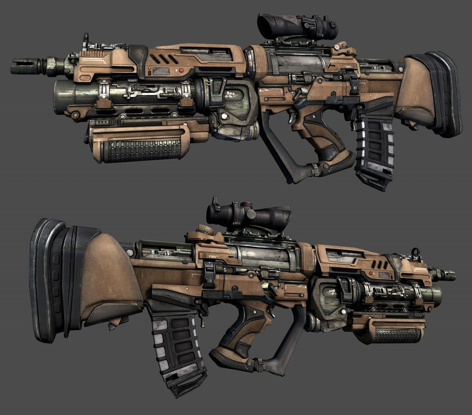 36++ 3d weapons information