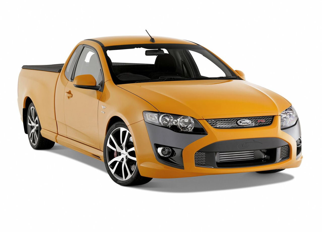 This Fpv Falcon F6 Ute Is One Mean Machine 4 0 Litre Turbo
