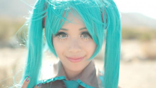 try my ��hatsune miku�� makeup tutorial anime costume
