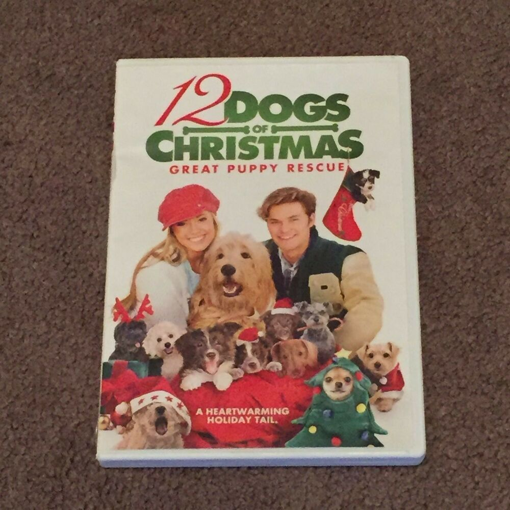 12 Dogs Of Christmas.12 Dogs Of Christmas Great Puppy Rescue Dvd Christmas