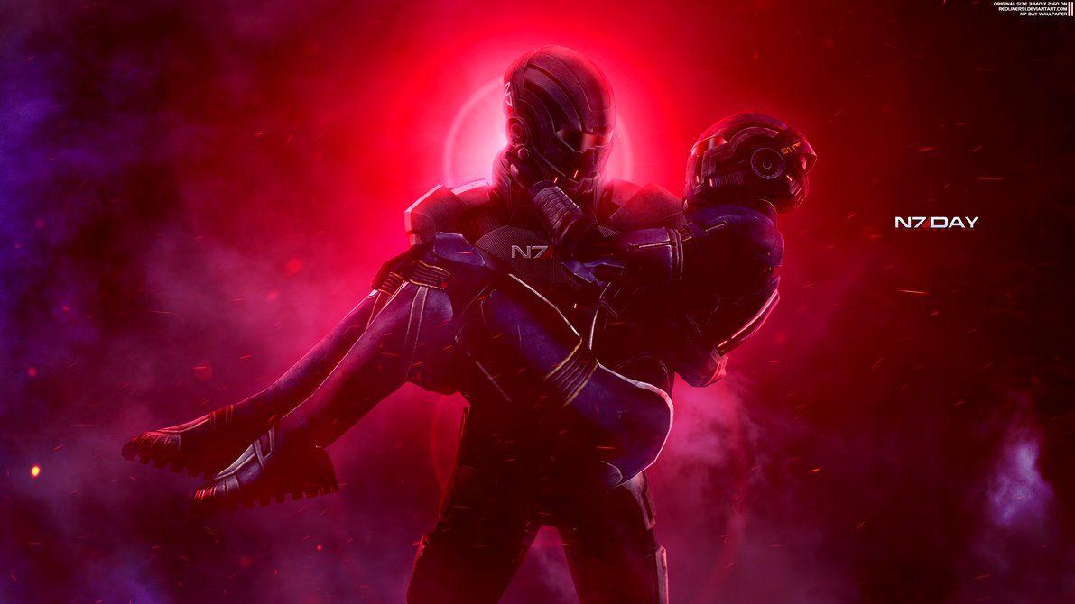 Together Mass Effect N7 Day Wallpaper 4k By Redliner91