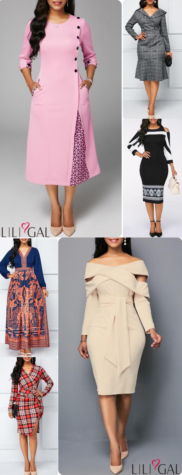 classy fall dress outfit fall dresses winter dresses long