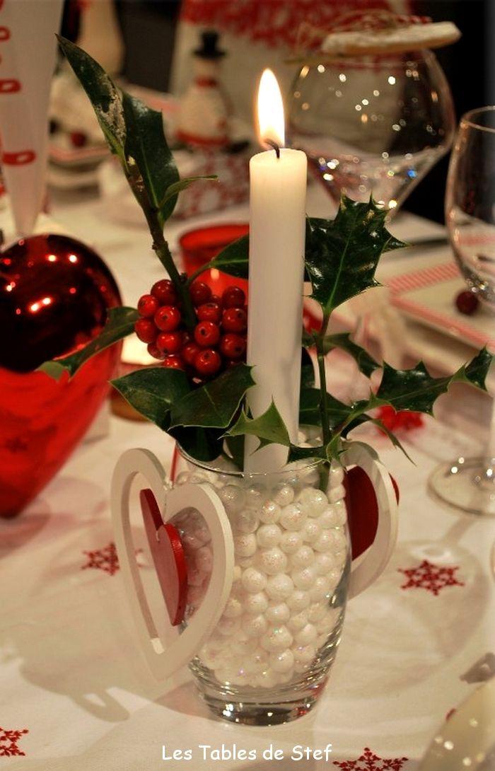 une d co de table aux couleurs de no l christmas decorating no l d coration diy f tes de fin d. Black Bedroom Furniture Sets. Home Design Ideas