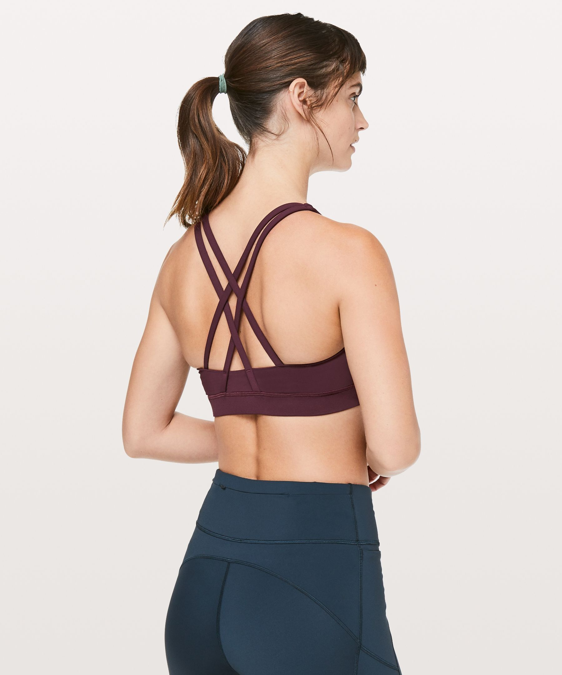 eb26a6ed63f6f Energy Bra - Need a sports bra that does it all  Look no further! This  sweat-wicking cross-strap bra gives you the coverage and support you need  for yoga