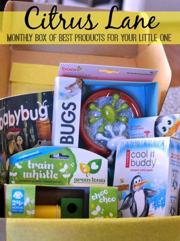 great gift idea - a monthly subscription to a box of the