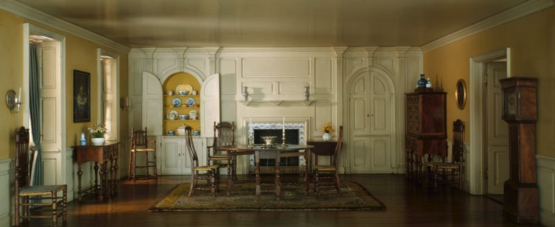 Rooms: A3: Massachusetts Dining Room, 1720