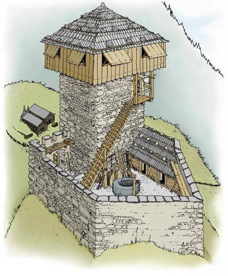 Ruine Reischen I (Tur) - Pro Castellis #castles
