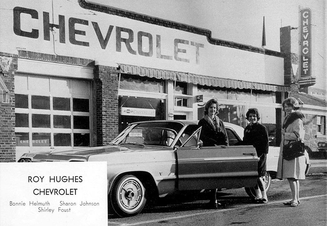 1964 Roy Hughes Chevrolet Dealership Bartlesville Oklahoma