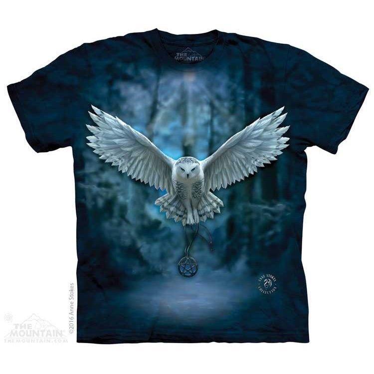 The Mountain Child Starlight Unicorn Anne Stokes T Shirt