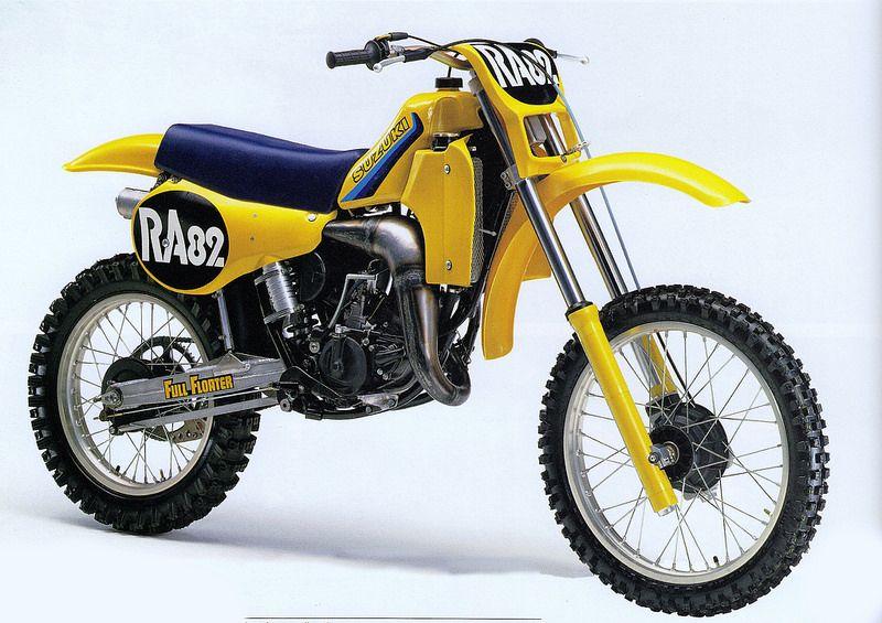 1982 Japanese Factory Suzuki Ra82 Suzuki Motocross Vintage Motocross Motocross Bikes