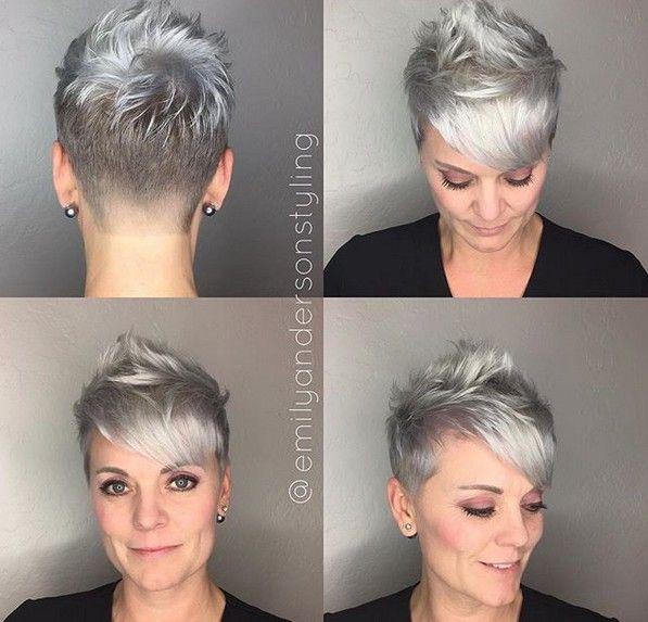Frauen 2017 undercut kurz Undercut Frisuren