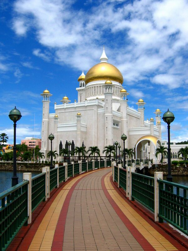 Pin by BonVoyageurs on Country Roll | Mosque, Brunei travel