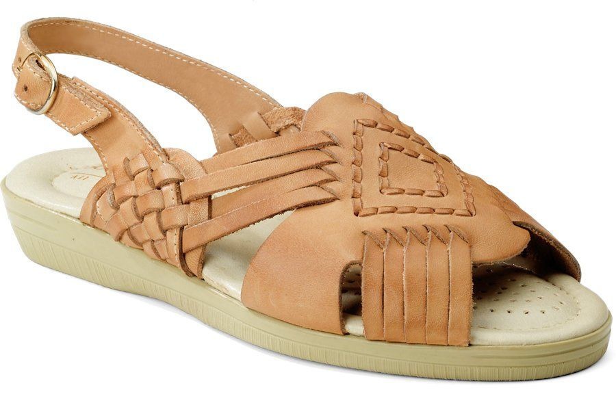 Softspots Tela in Natural Calf - Softspots Womens Sandals on Shoeline.com