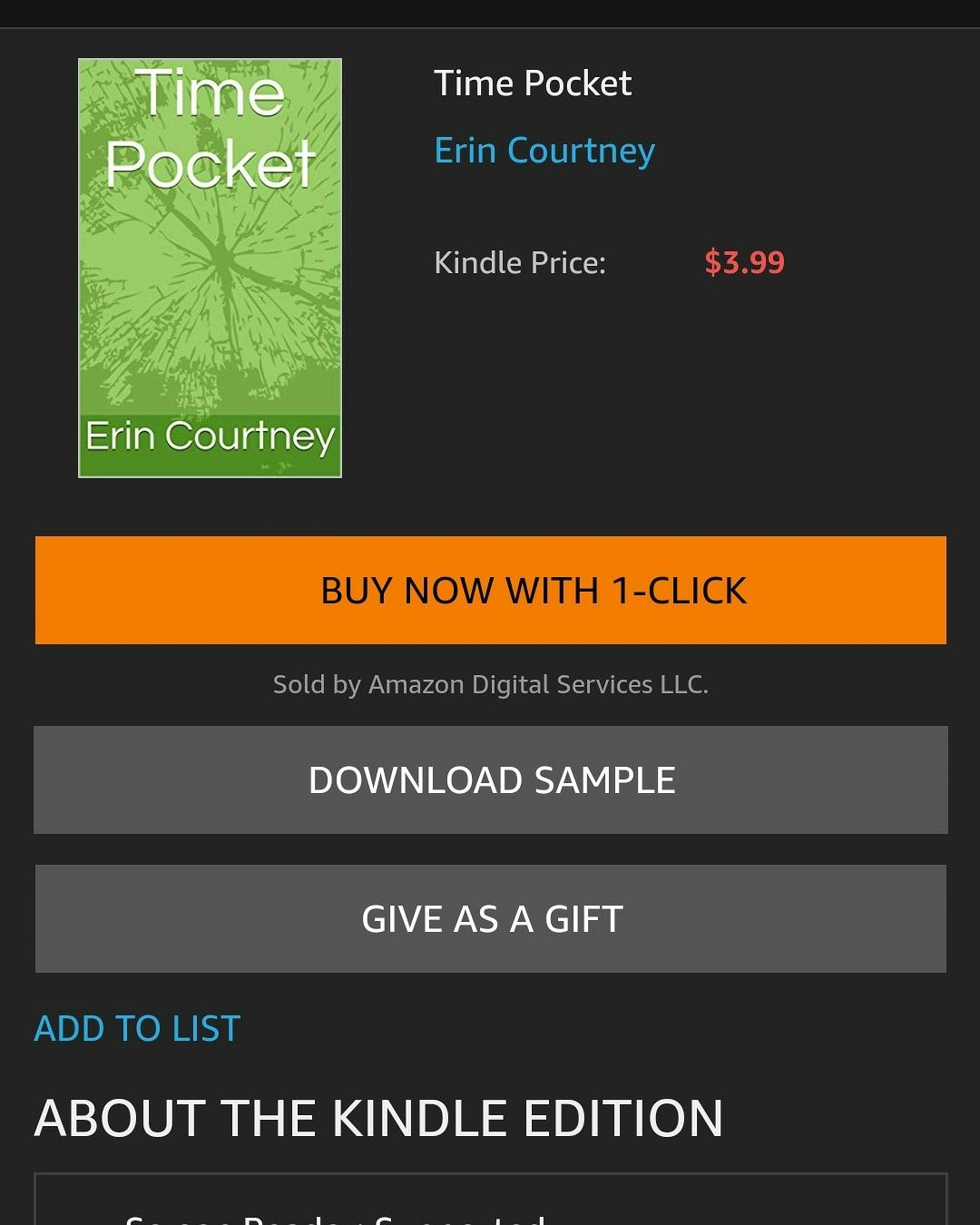 Pin By Erin Courtney On Time Pocket My Book Things To Sell My Books Pocket